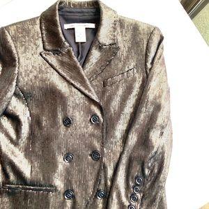 Bronze Diane Von Furstenberg sequined blazer